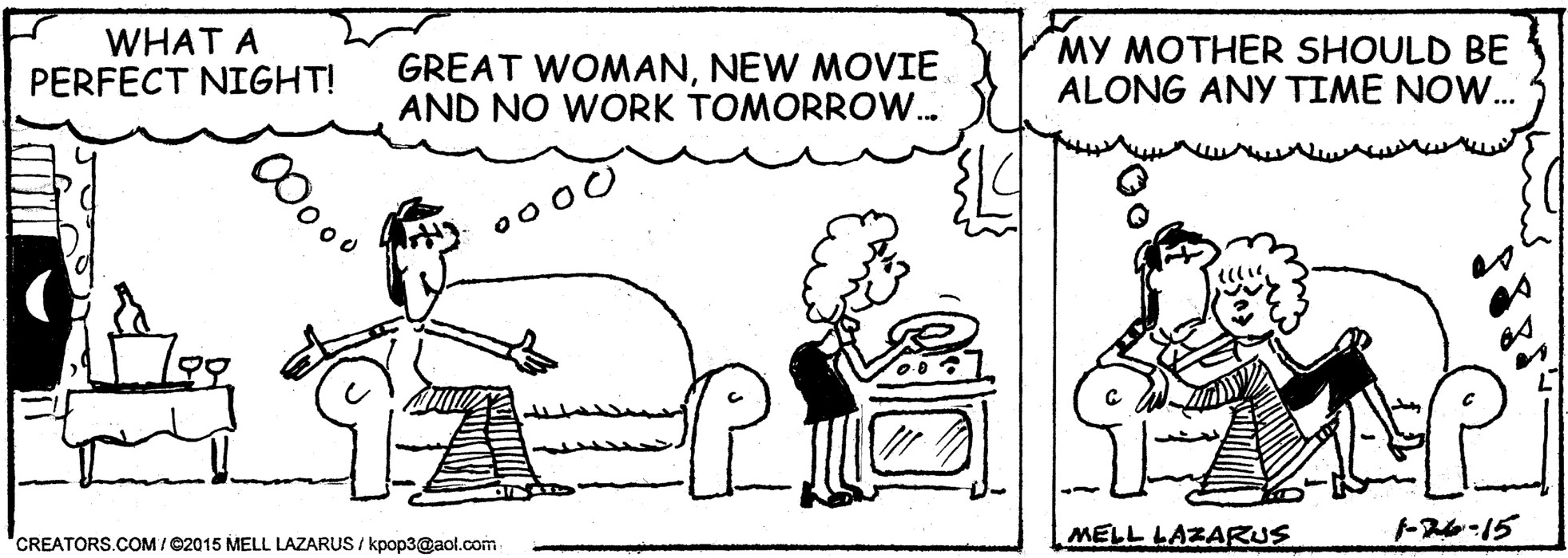 Momma for January 26, 2015