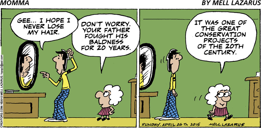 Momma for Apr 26, 2015