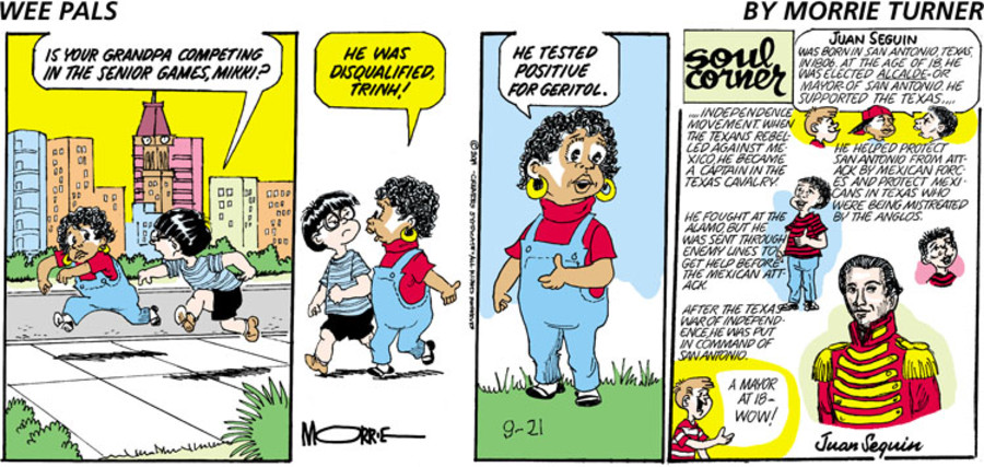 Wee Pals for Sep 21, 2014