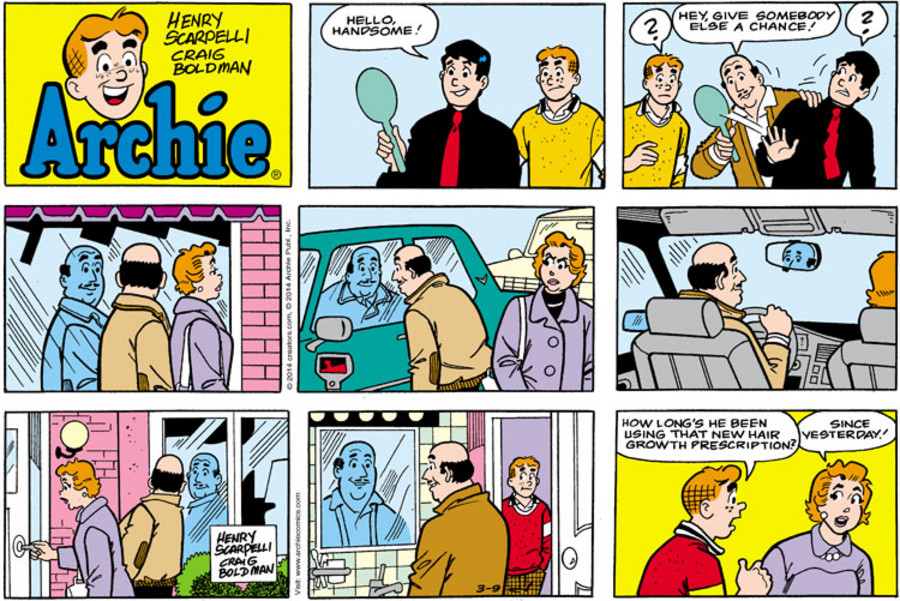 Archie for Mar 09, 2014