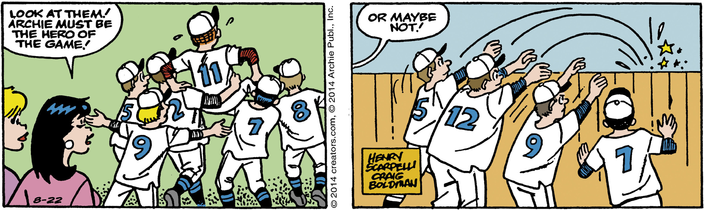 Archie for Aug 22, 2014