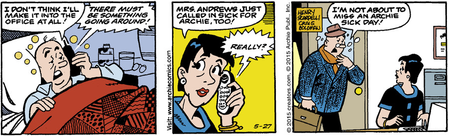 Archie for May 27, 2015