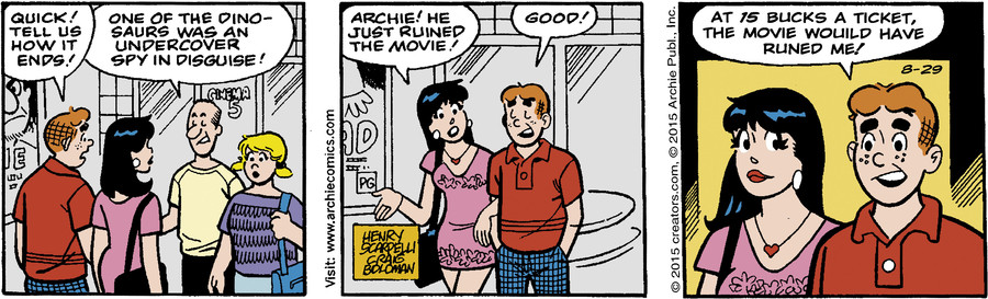 Archie for Aug 29, 2015