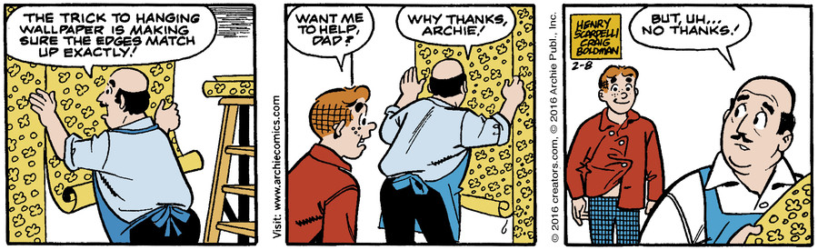 Archie for Feb 08, 2016
