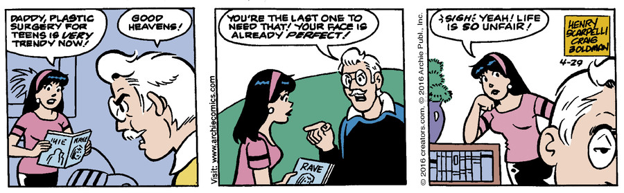 Archie for Apr 29, 2016