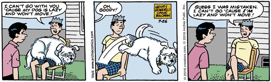 Archie for Jul 26, 2016