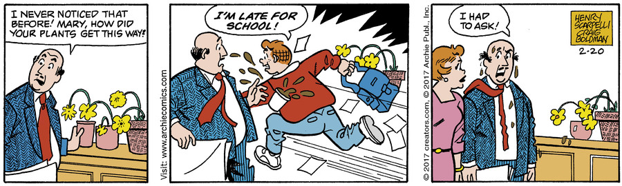 Archie for Feb 20, 2017