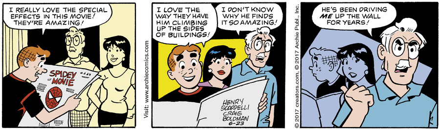 Archie for Jun 23, 2017