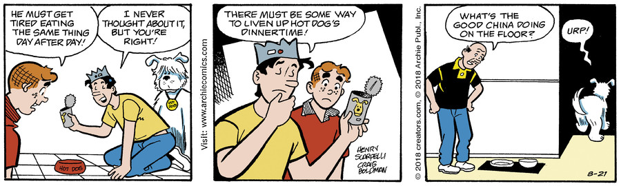 Archie for Aug 21, 2018