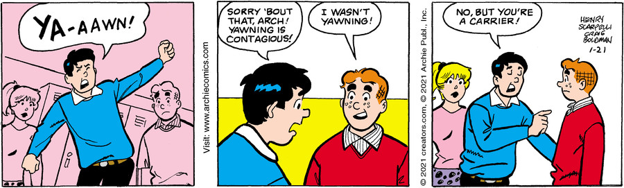 Archie for Jan 21, 2021