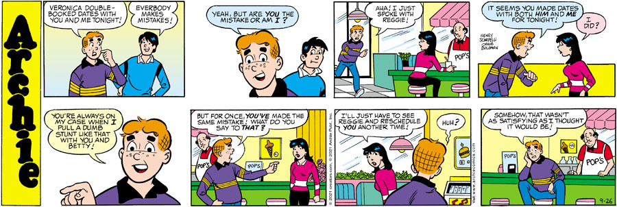 Archie for Sep 26, 2021