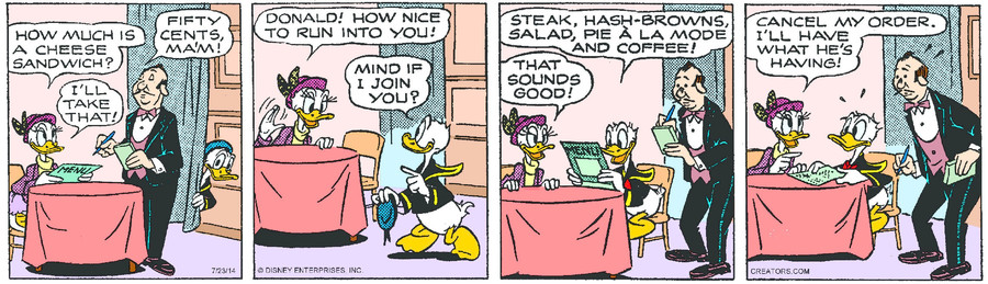 Donald Duck for Jul 23, 2014