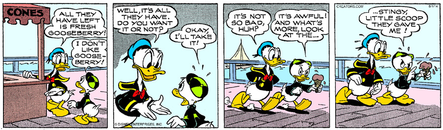 Donald Duck for Aug 01, 2014
