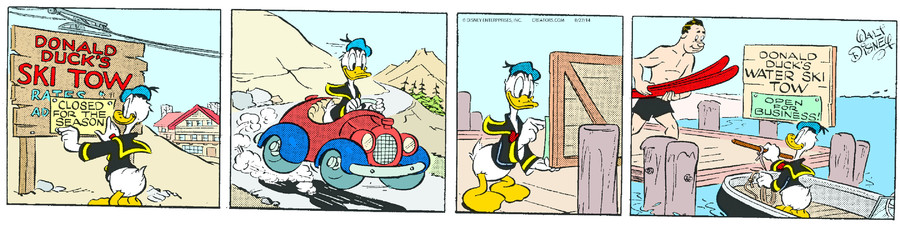 Donald Duck for Aug 27, 2014