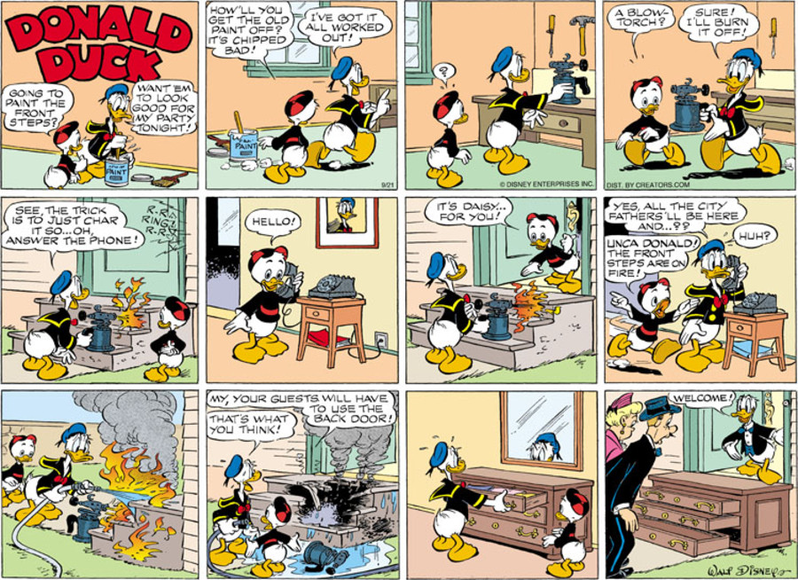 Donald Duck for Sep 21, 2014