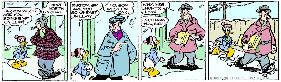 Donald Duck for Oct 22, 2014