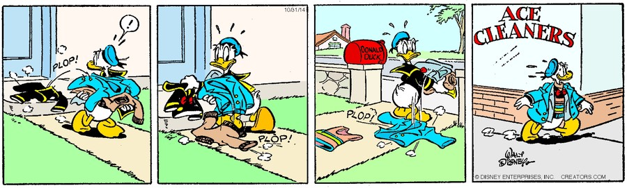 Donald Duck for Oct 31, 2014