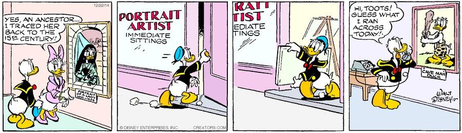 Donald Duck for Dec 22, 2014