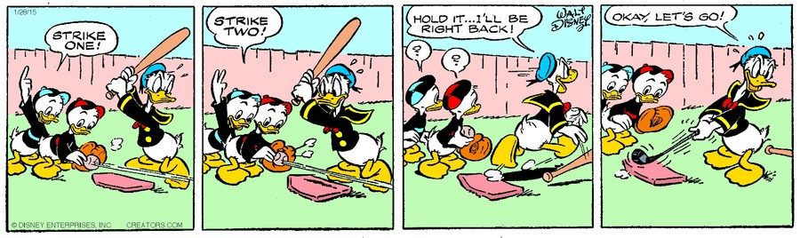 Donald Duck for Jan 28, 2015