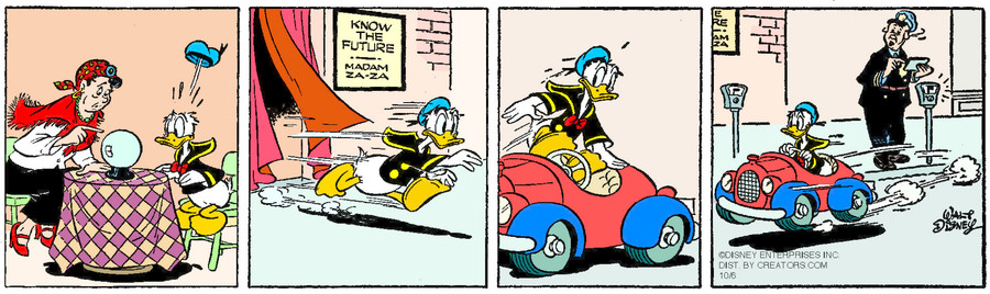 Donald Duck for Oct 06, 2015