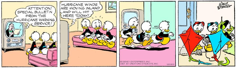 Donald Duck for Dec 31, 2015