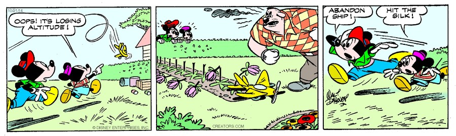 Mickey Mouse for October 21, 2014