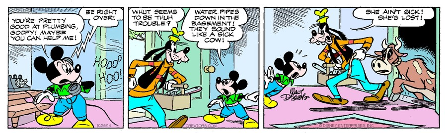 Mickey Mouse for Oct 25, 2014