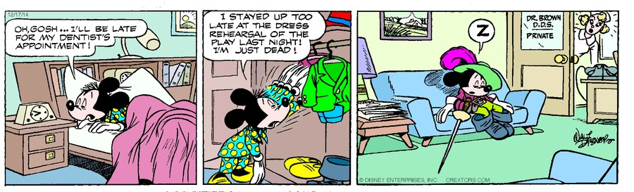 Mickey Mouse for Dec 17, 2014