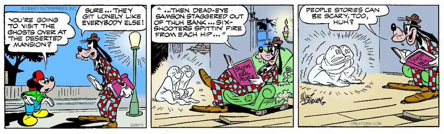 Mickey Mouse for Feb 28, 2015