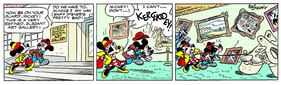 Mickey Mouse for Mar 26, 2015