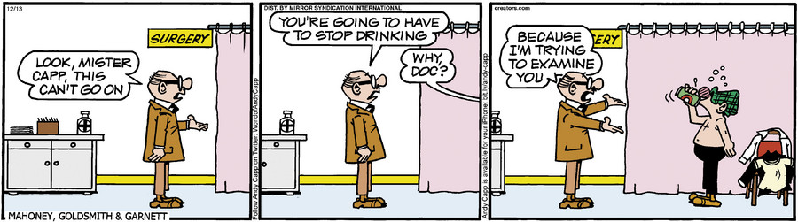 Andy Capp for Dec 13, 2013