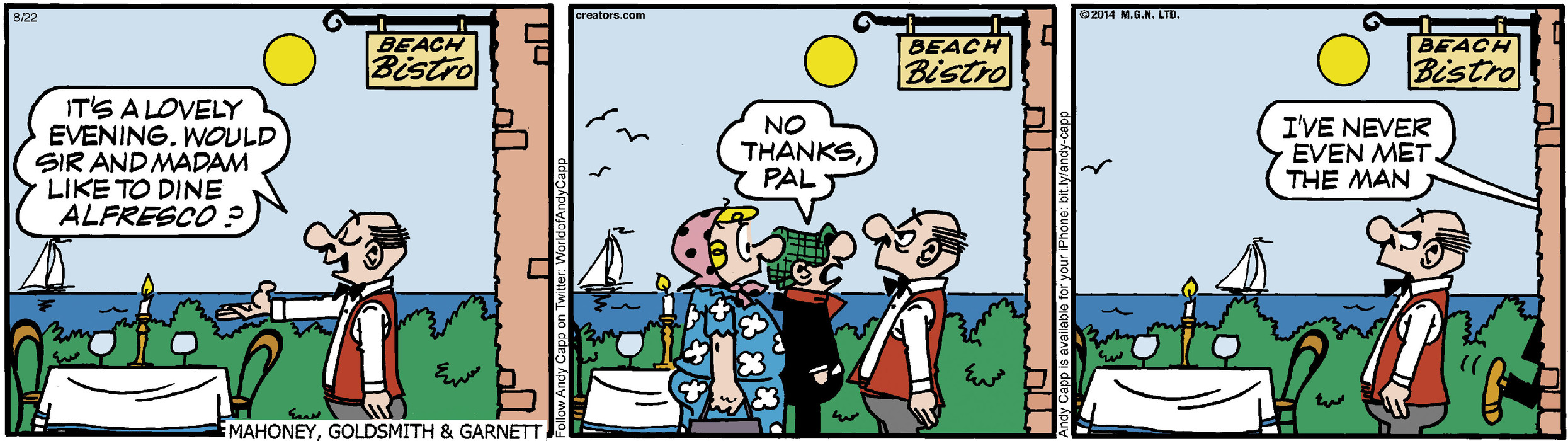 Andy Capp for Aug 22, 2014