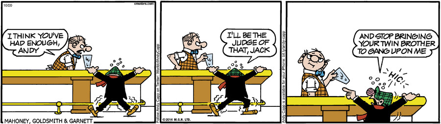 Andy Capp for Oct 20, 2014