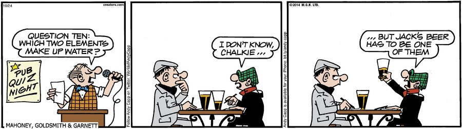 Andy Capp for Oct 24, 2014