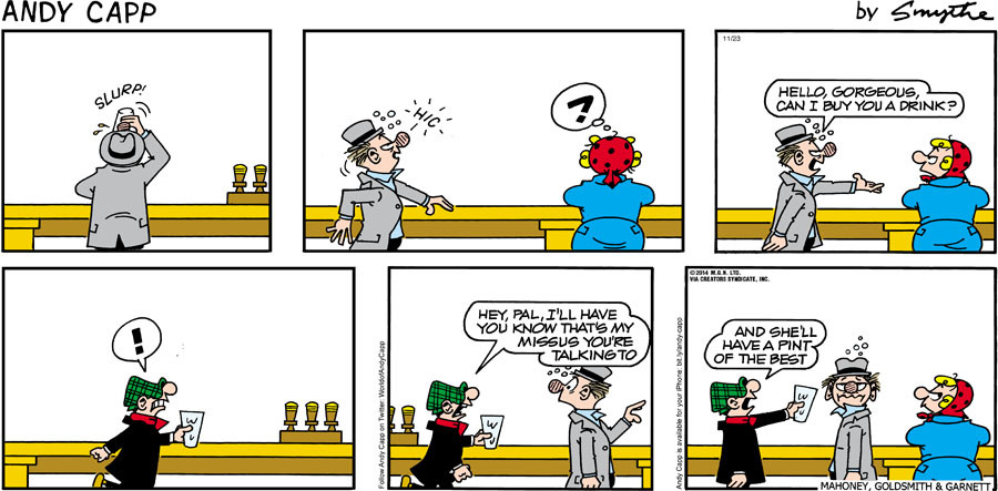 Andy Capp for Nov 23, 2014