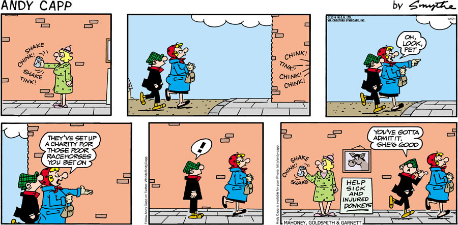 Andy Capp for Dec 21, 2014