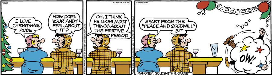 Andy Capp for December 22, 2014