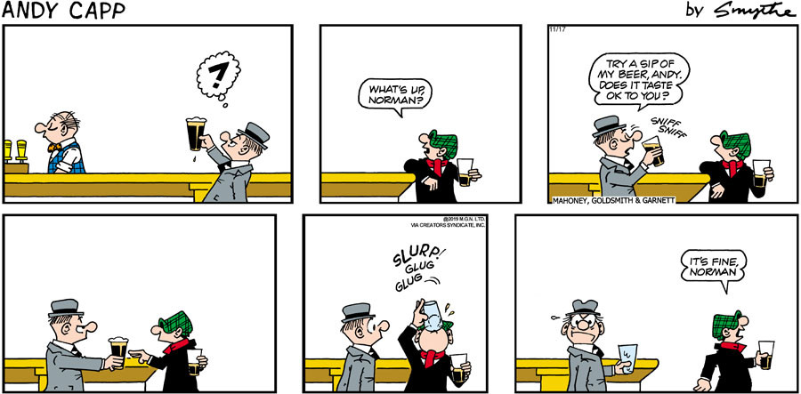 Andy Capp for Nov 17, 2019
