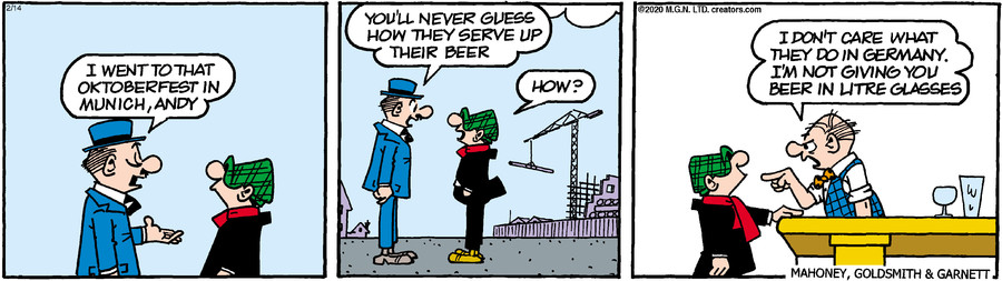 Andy Capp for Feb 14, 2020