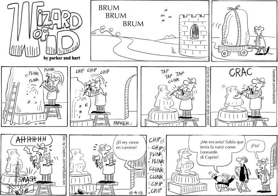 Wizard of Id Spanish for Oct 04, 2015