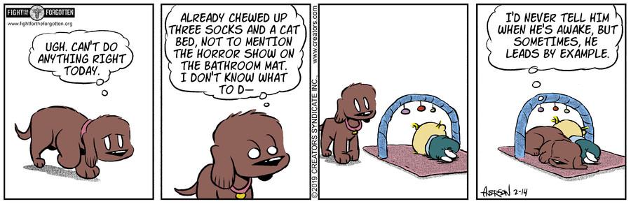 Dog Eat Doug for Feb 14, 2019