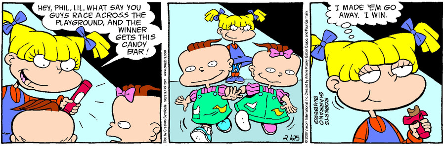 Rugrats for February 25, 2017