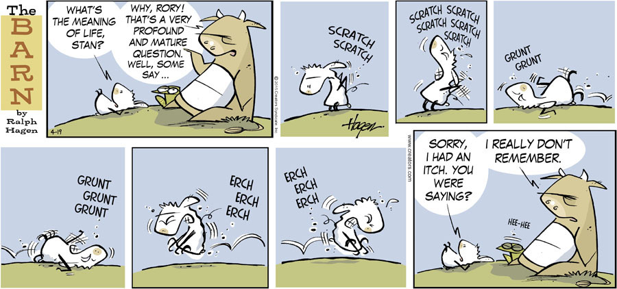 The Barn for Apr 19, 2015