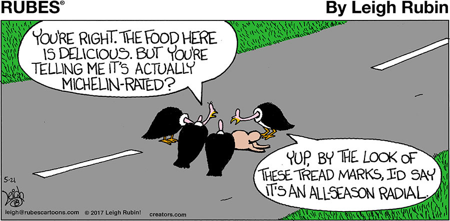Rubes® for May 21, 2017