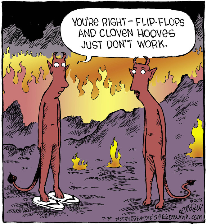 Speed Bump for Jul 30, 2016