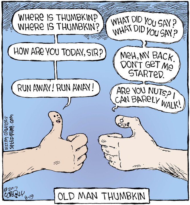 Speed Bump for Aug 19, 2017