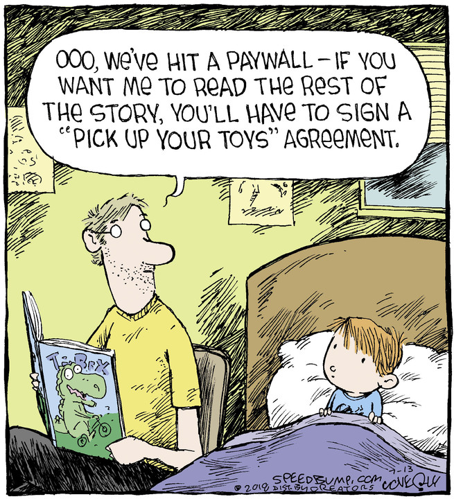 Speed Bump for Jul 13, 2018
