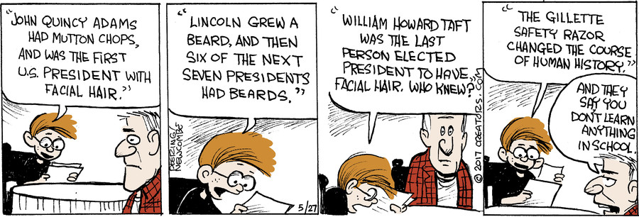 Zack Hill for May 27, 2017