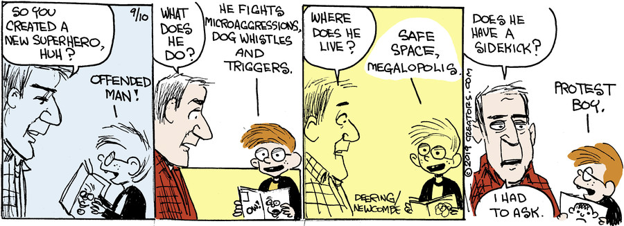 Zack Hill for Sep 10, 2019
