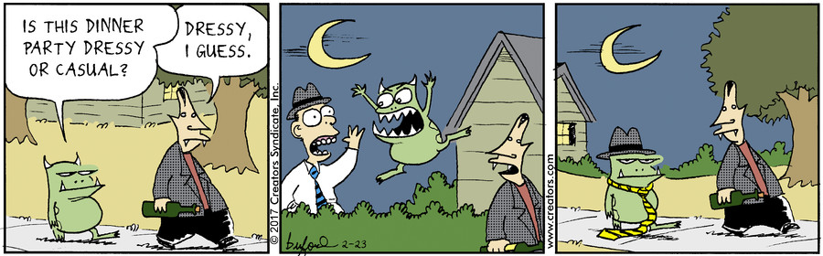 Scary Gary for Feb 23, 2017